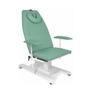 Fotele zabiegowe, stanowiska do pobierania krwi